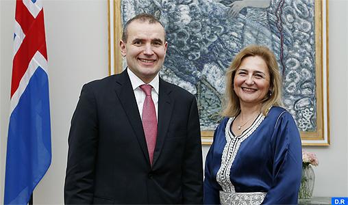 Mme Lamia Radi présente ses lettres de créance au président de la République d'Islande