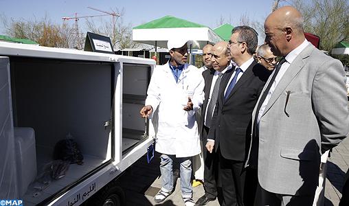 INDH : remise d'équipements de transport au profit des marchands ambulants à la province de Nouaceur