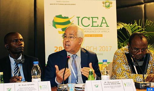 CIEA-2017 : Les avancées enregistrées par le Maroc dans divers domaines mis en avant à Abidjan (Mouline)