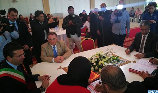 Kénitra: convention de partenariat pour l'ouverture d'un centre de formation dans le domaine des glaces bio