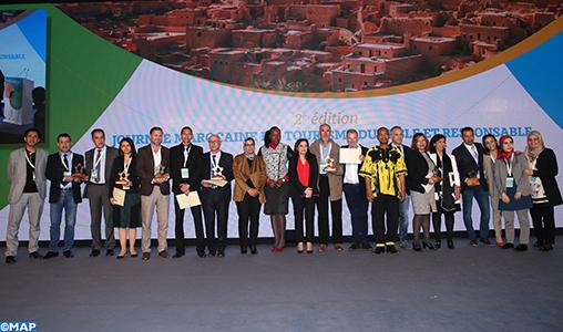 Remise des prix de la 7è édition des Trophées Maroc du tourisme durable