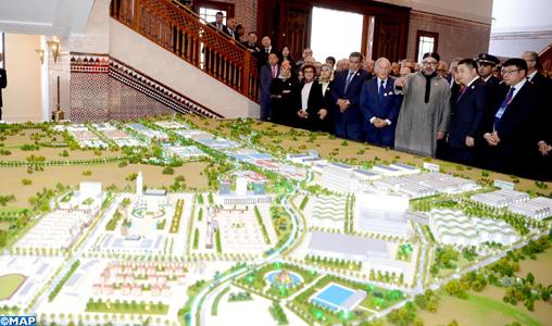 """La """"Cité Mohammed VI Tanger-tech"""", un projet d'envergure venant renforcer l'attractivité et la compétitivité du Maroc"""