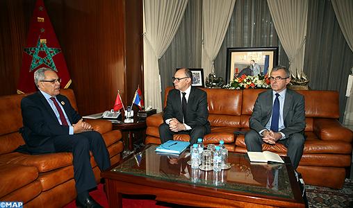 Visite de travail au Maroc de M. Jean-Paul Bodin, Secrétaire Général pour l'Administration du ministère français de la Défense