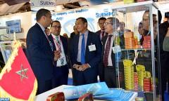 "Inauguration du pavillon marocain au ""Seafood Expo Global"" de Bruxelles"