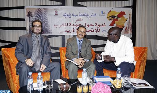 Le retour du Maroc à l'UA illustre la profondeur africaine du Royaume (rencontre)