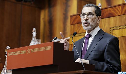 M. Saad Eddine El Othmani présente le programme gouvernemental devant le Parlement