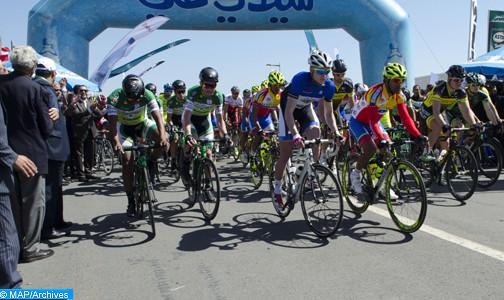 Coup d'envoi à Ben Slimane de la 30e édition du Tour du Maroc de cyclisme