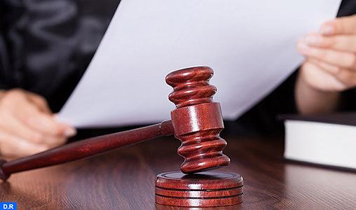 Plus de 2 millions d'affaires enregistrées devant les juridictions du Royaume en 2017 (Rapport)
