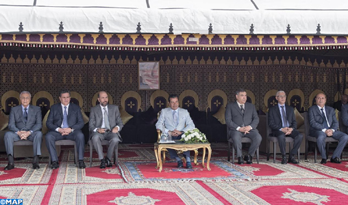 """SAR le Prince Moulay Rachid préside la cérémonie de remise des prix de la 18-ème édition du Trophée Hassan II des arts équestres traditionnels """"Tbourida"""""""