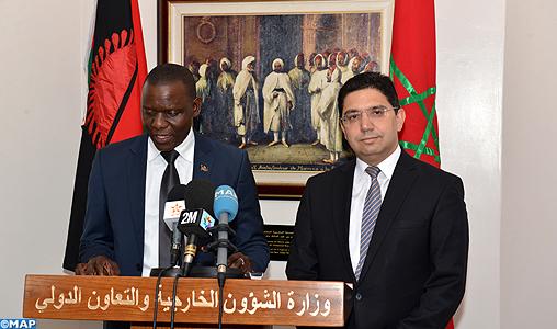 """Le Malawi retire sa reconnaissance de la """"RASD"""" (ministre des Affaires étrangères du Malawi)"""