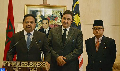 Maroc malaisie examen des moyens de consolider la coop ration parlementaire map expressmap - Chambre de commerce malaisie ...