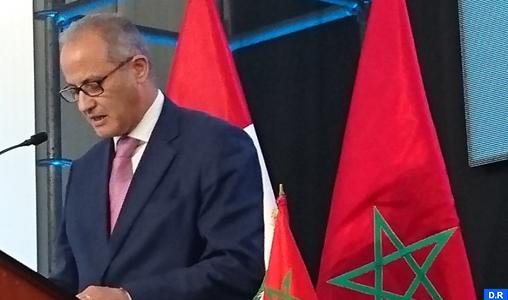La stratégie marocaine de coopération Sud-Sud tire ses paramètres de la Vision Royale d'une coopération pour un développement commun (Ambassadeur)