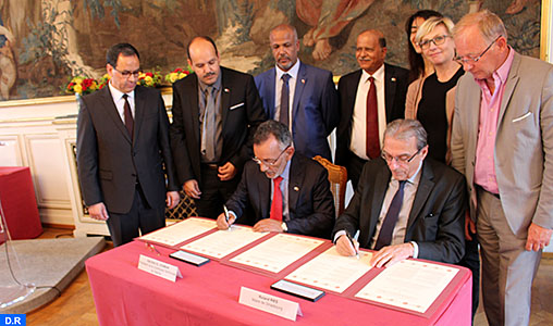 Signature d'un accord de partenariat entre Strasbourg et Dakhla