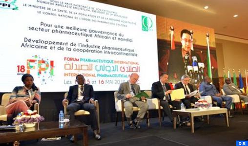 Participation marocaine au forum pharmaceutique international d'Alger