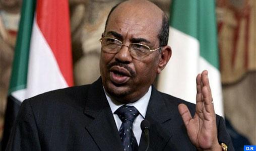 Le président Omar Hassan Al Bashir invite SM le Roi à effectuer une visite au Soudan