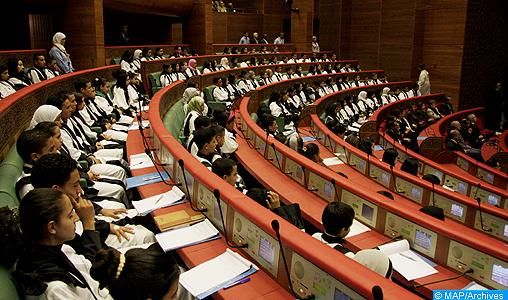 Le parlement de l'enfant renouvelle la liste de ses membres pour la période 2017-2019