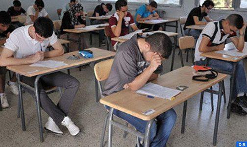 Région Béni Mellal-Khénifra: La session de rattrapage de l'examen du baccalauréat s'est déroulée dans de bonnes conditions