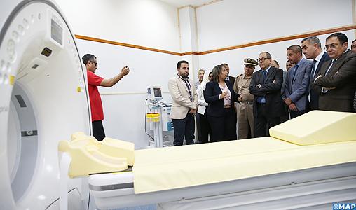 Inauguration du service de radiologie et d'une salle de déchoquage à l'hôpital provincial de Taounate