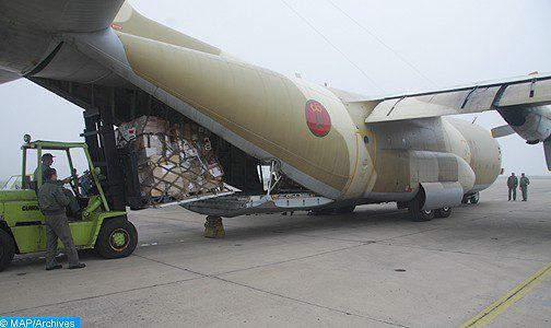 Sur instruction de SM le Roi, le Maroc décide d'envoyer des avions chargés de produits alimentaires à destination de l'Etat du Qatar