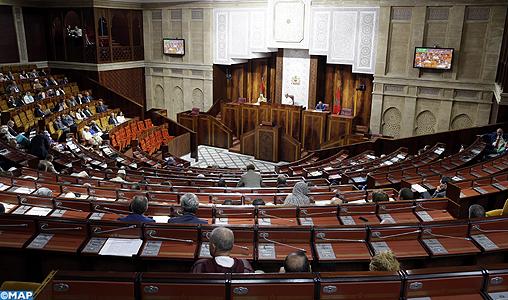 Chambre des représentants: Examen mercredi du rapport annuel de la Cour des comptes et vote du projet de loi portant réforme des CRI