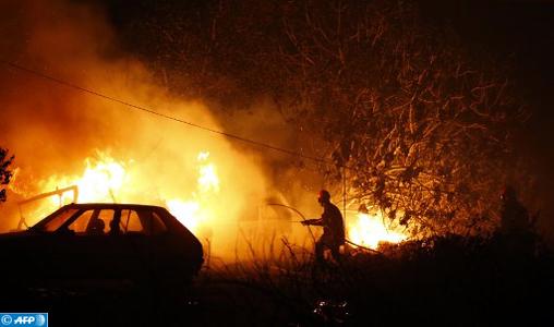 Plus de 3.000 hectares ravagés par des incendies de forêt dans le sud de la France et en Corse