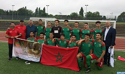 GB: L'équipe marocaine de football des moins de 17 ans classée 2ème au tournoi African Nations Cup UK-2017