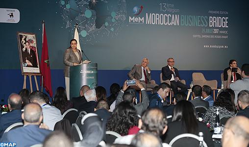 Lancement de la 13ème région de la CGEM à l'occasion de la 1ère édition du Moroccan Business Bridge