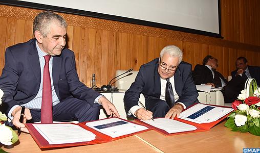 Remise des archives de l'Instance indépendante d'arbitrage aux Archives du Maroc