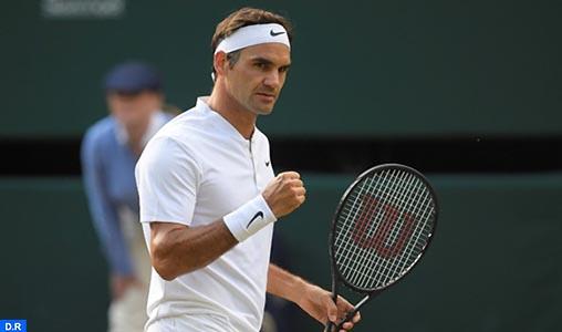 Roger Federer décroche un 8e titre à Wimbledon, un record
