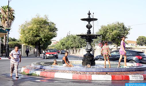 Forte vague de chaleur du dimanche à mardi dans plusieurs provinces du Royaume (bulletin spécial)