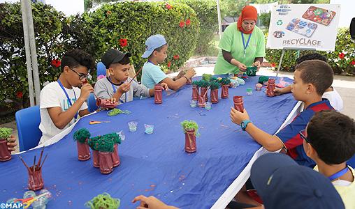 Colonie de vacances au profit des enfants du personnel du ministère des Finances: un espace de divertissement et d'apprentissage par excellence