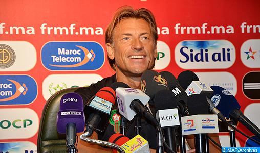 Hervé Renard dévoile la liste des 28 joueurs qui disputeront les matchs amicaux contre la Serbie et l'Ouzbékistan (FRMF)