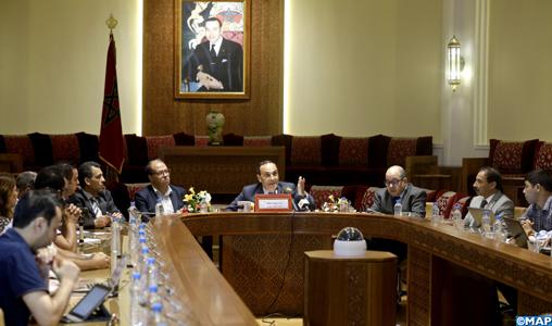 """Chambre des représentants: M. El Malki qualifie de """"positif"""" le bilan de la deuxième session en dépit de son caractère exceptionnel"""
