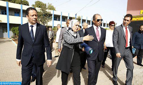 Ouarzazate : M. Hassad note avec satisfaction à l'adhésion massive au chantier de mise à niveau des établissements scolaires