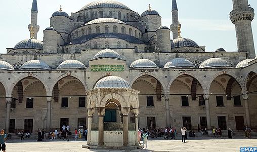 La quadri centenaire Mosquée Sultanahmet va prendre un coup de jouvence