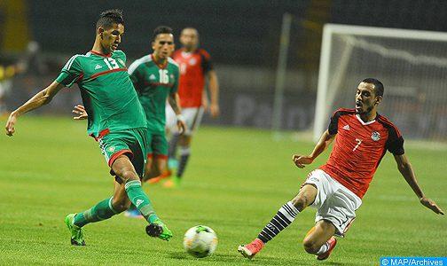 CHAN – Barrages retour: match décisif de la sélection marocaine contre son homologue égyptienne