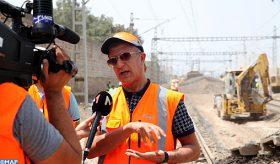 Désaturation du carrefour ferroviaire de Casablanca : Plus de 70% des travaux achevés (Khlie)