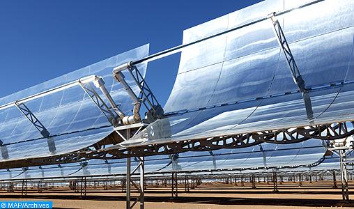 Noor Ouarzazate, un catalyseur pour réaliser l'objectif national de 52 pc en mix énergétique