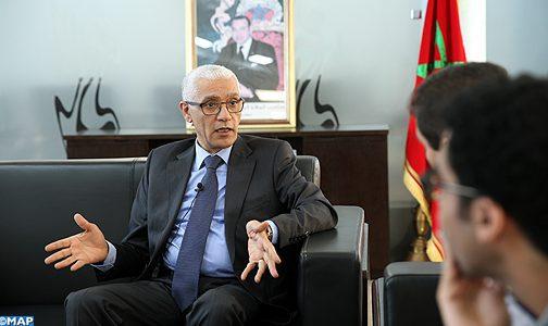 Le Maroc, pays hôte de grandes manifestations internationales, est capable d'abriter le Mondial 2026 (M. Talbi Alami)