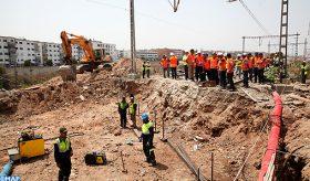 Travaux exceptionnels au niveau du carrefour ferroviaire de Casablanca