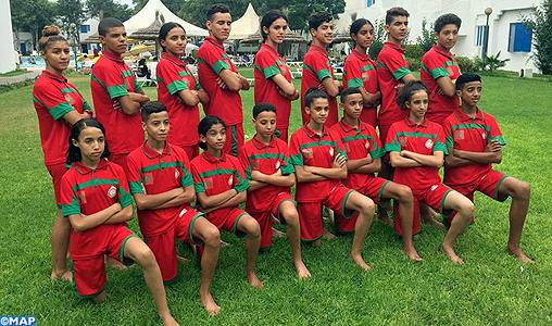 Le Maroc participe aux 3èmes championnats du monde cadets à Sharm El Sheikh du 24 au 28 août 2017 (FRMTKD)