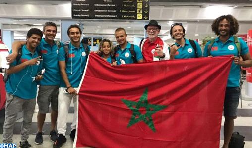 Le Maroc au Championnat du monde juniors de surf au Japon