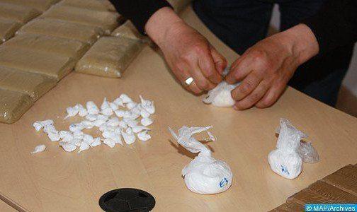 Casablanca: Arrestation à l'aéroport Mohammed V d'une Espagnole en possession d'1,5 kg de cocaïne