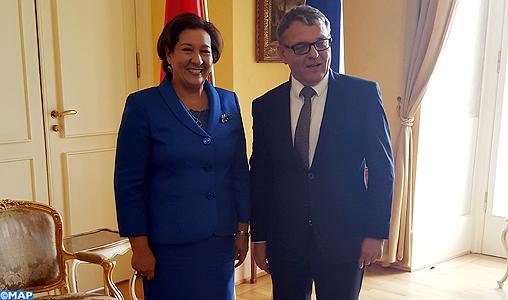 Double distinction pour l'Ambassadeur du Maroc en République Tchèque