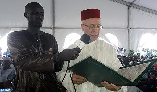Sénégal : M. Taoufiq remet deux messages de SM le Roi à la famille du Khalife général des Tidjanes Sy et au nouveau khalife de la confrérie