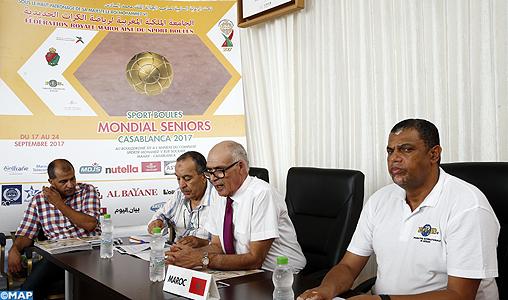 Le Maroc organise le championnat du monde séniors des sports Boules du 17 au 24 septembre à Casablanca