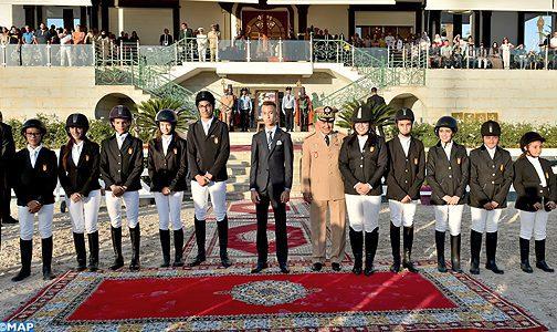 SAR le Prince Héritier Moulay El Hassan préside à Tétouan la cérémonie de remise du Grand Prix de SM le Roi Mohammed VI du concours officiel de saut d'obstacles 3* de la Garde Royale