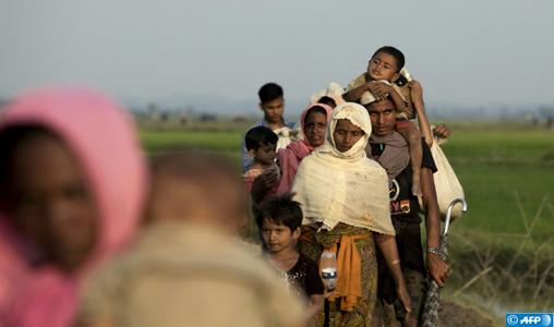 L'exode des Rohingyas vers le Bangladesh devrait franchir le cap d'un million de réfugiés (diplomate)