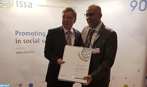Addis-Abeba: La MGPAP récompensée par l'Association Internationale de la Sécurité Sociale pour sa politique de proximité et la bonne gouvernance