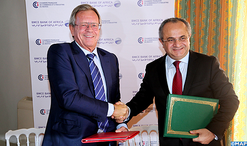La bmce bank of africa et la cfcim scellent la youne for Chambre de commerce francaise toronto